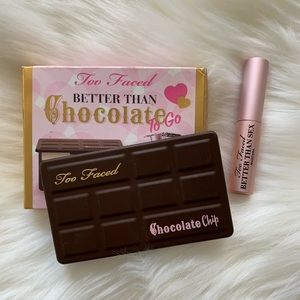 Chocolate Bar Palette And Mascara To Go
